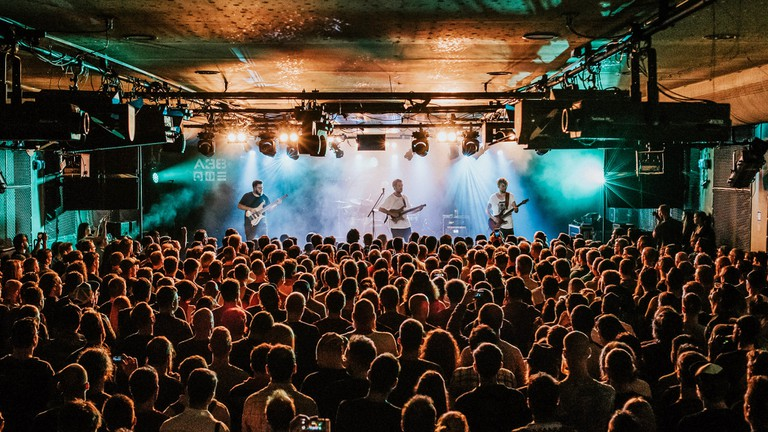 Set onboard a barge, A38 is one of Budapest's top live-music venues