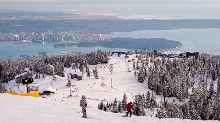 Grouse Mountain is perfect for outdoor fitness lovers
