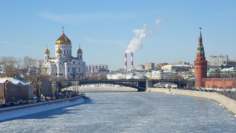 Moscow's Cathedral of Christ the Saviour is a key sight to visit on a trip to the Russian capital