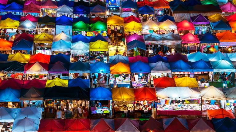 Bangkok has so much to see, including many night markets