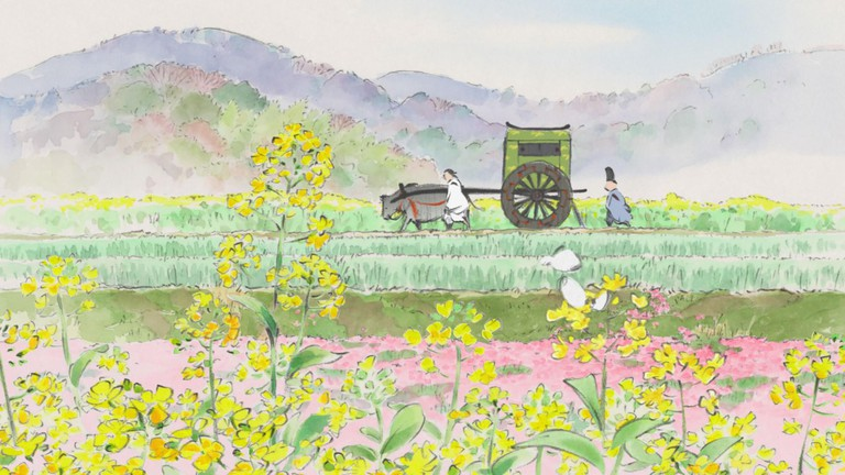 Like many other films created by the revered Studio Ghibli, 'The Tale of Princess Kaguya' takes inspiration from a great literary work