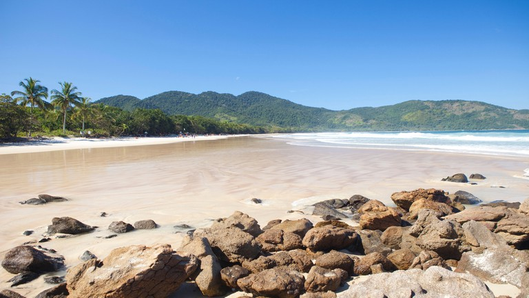 Lopes Mendes is one of many beautiful beaches on Ilha Grande