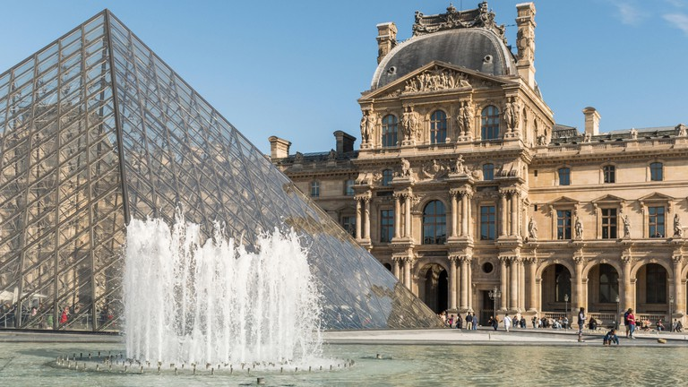 The Louvre Museum is opening after four months of closure