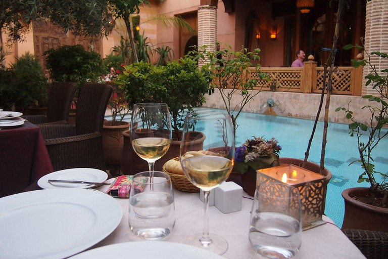 La Maison Arabe is one of the many modern riad hotels