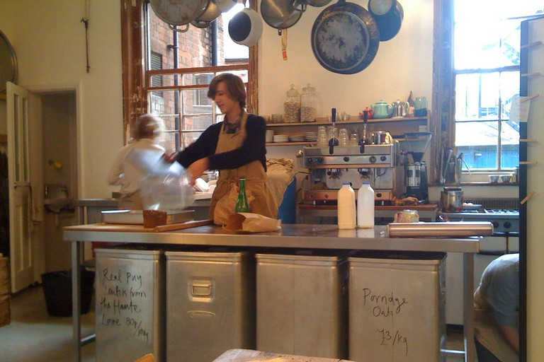 Expect well-made, seasonal food from local producers at Leila's Shop