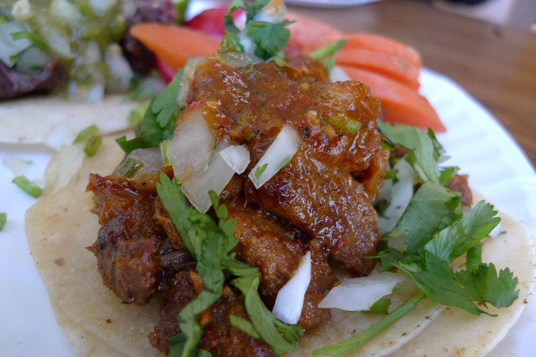 Marinated Pork Tacos
