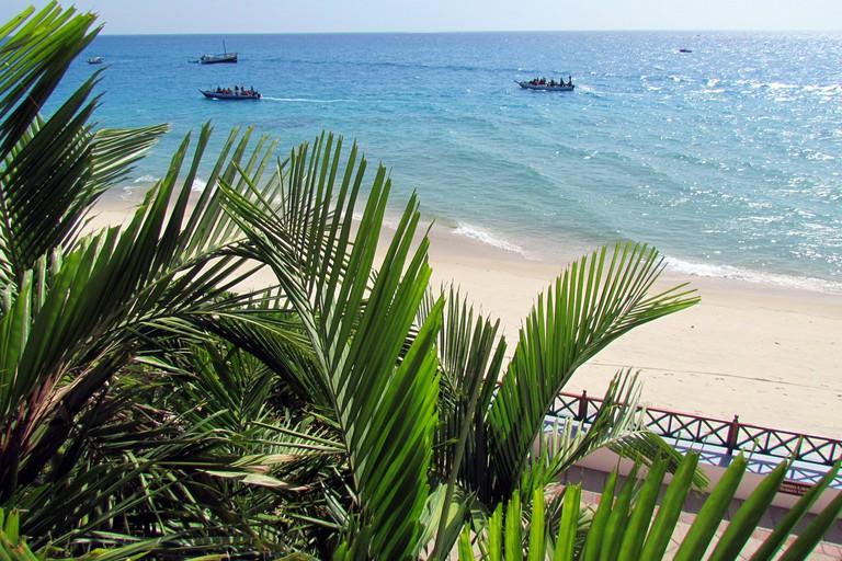 View from Zanzibar Serena Inn