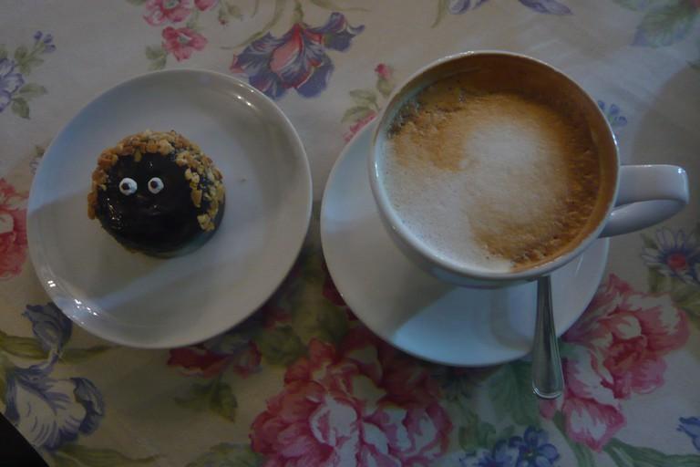 Creme de la Crème cafe in Chisinau, Moldova