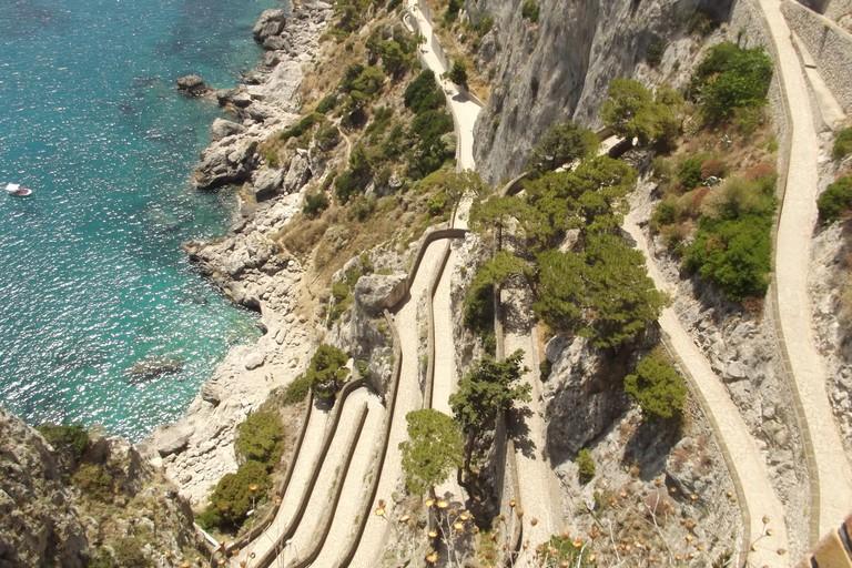 Via Krupp, Bay of Naples