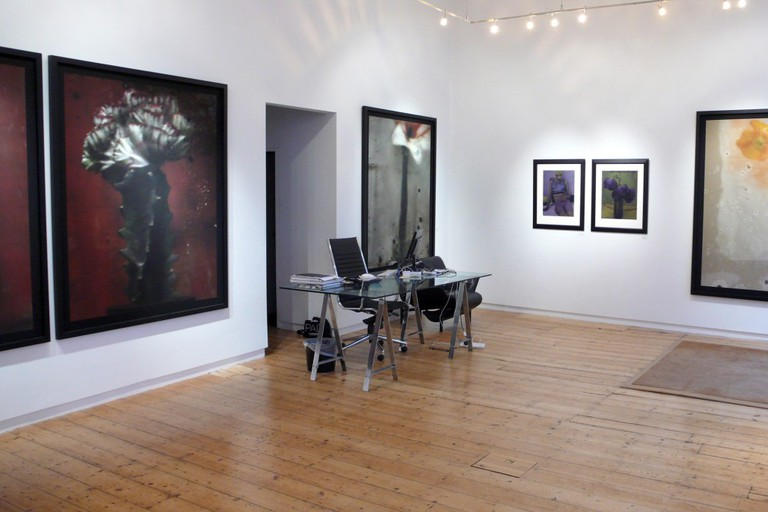 Exhibition of Sarah Moon's work at the Michael Hoppen Gallery