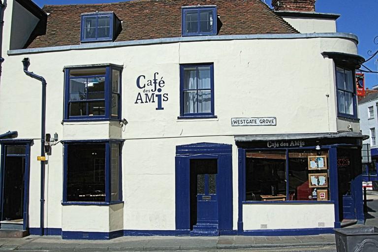Cafe des Amis, Canterbury