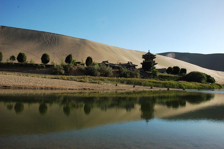 China Mingsha Gansu Province Dunhuang