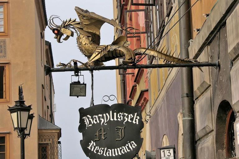 The Bazyliszek Restaurant | © WikiCommons