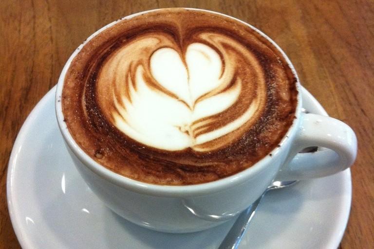 Mochaccino at Boréal Coffee Shop