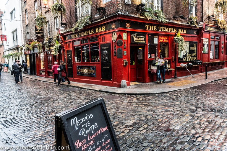The Temple Bar © William Murphy/Flickr