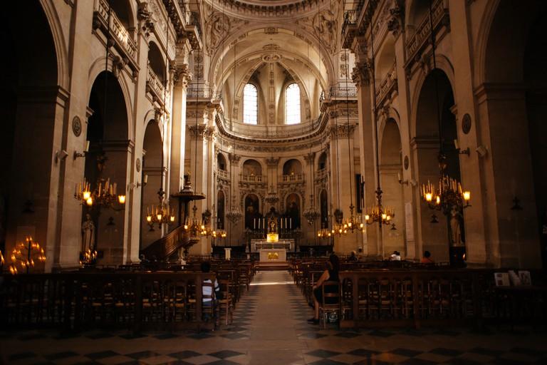 It's free to visit the Église Saint Paul-Saint-Louis
