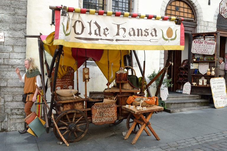 Olde Hansa taking you back to Tallinn's golden age
