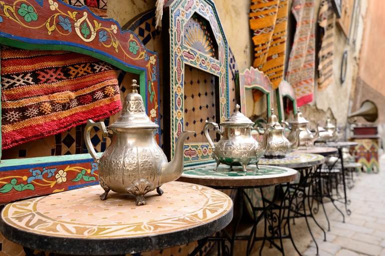 Old Town Souk in Medina, Morrocoo