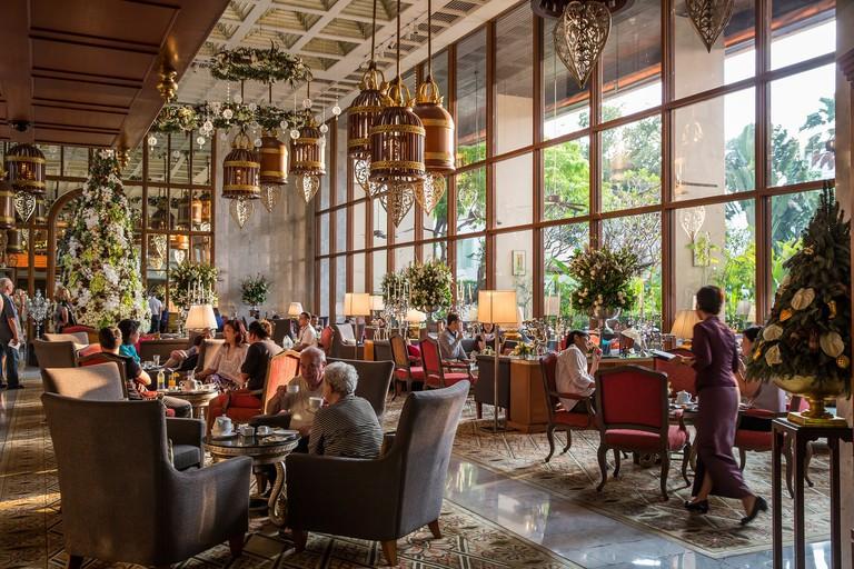 Enjoy elegance at the Mandarin Oriental hotel in Bangkok