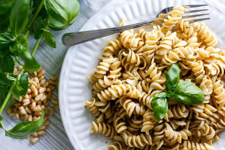 Delicious pasta is plentiful at Zanotti