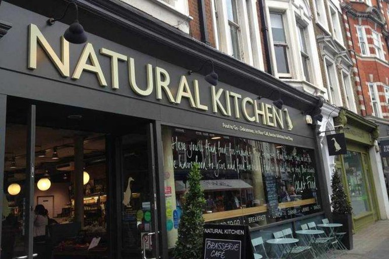 Natural Kitchen Exterior