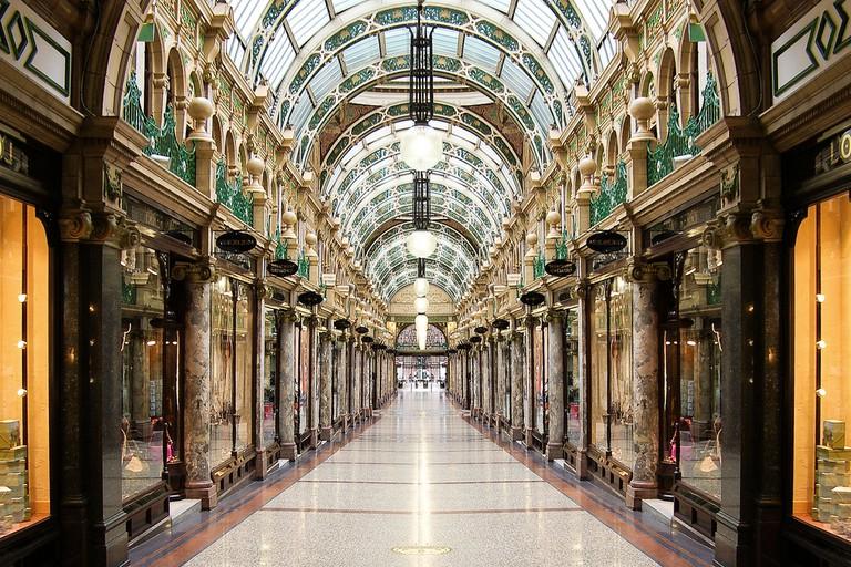 The Ridonkolously Expensive Queens Arcade, Leeds