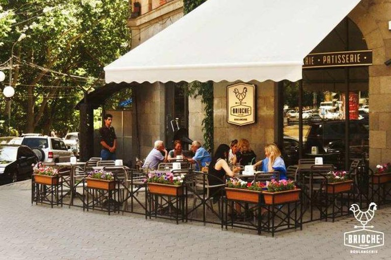 This café's patio is so pleasant, you might linger all morning