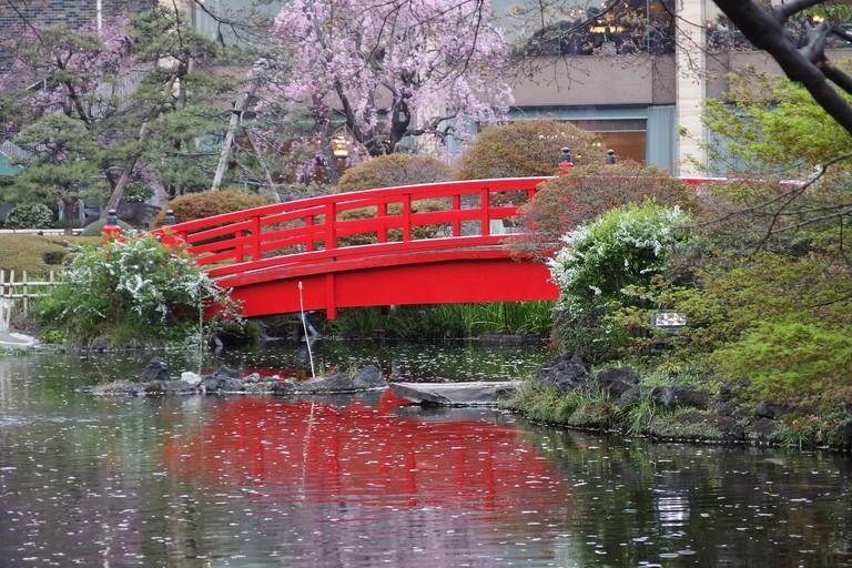Hotel New Otani, Japanese Garden