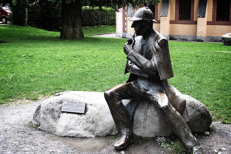 Statue of Sherlock Holmes