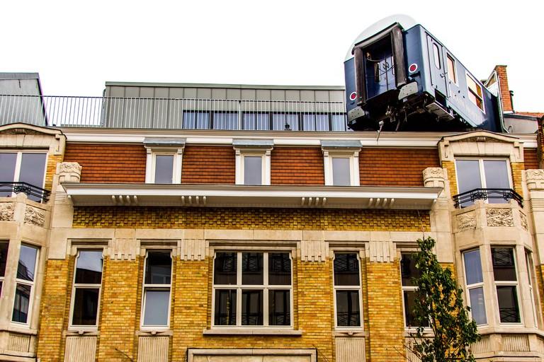 Train Hostel, Avenue Georges Rodenbach
