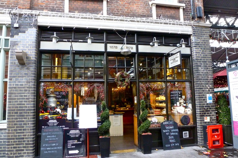Androuet-cheese shop and restaurant