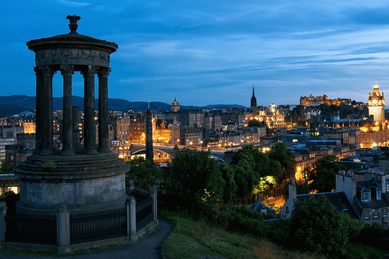 A manageable climb can be found in Calton Hill