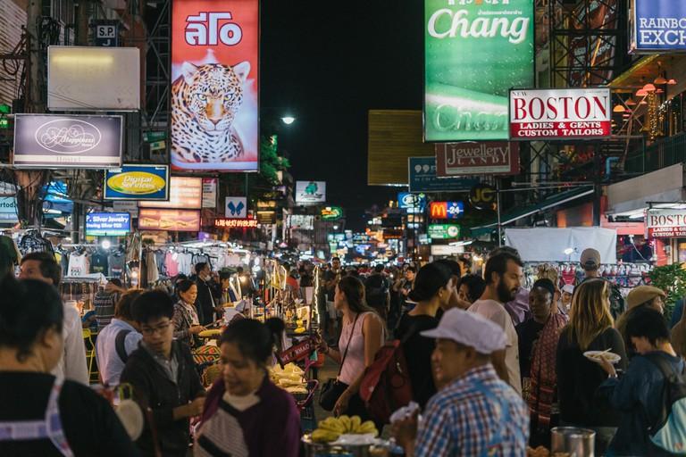 Bangkok's backpacker hub of Khao San Road