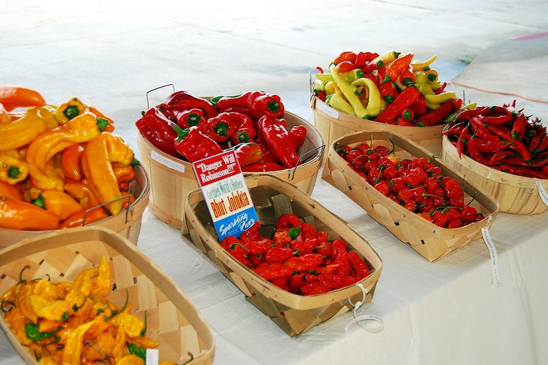 The city's farmer's market is a weekly, non-profit market cooperative that is run by vendors and artisans