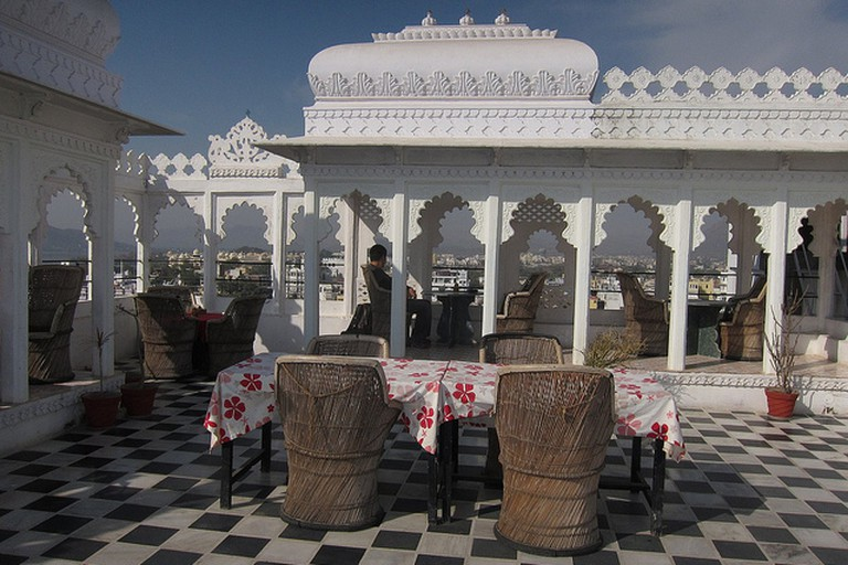 Anjani Hotel Terrace