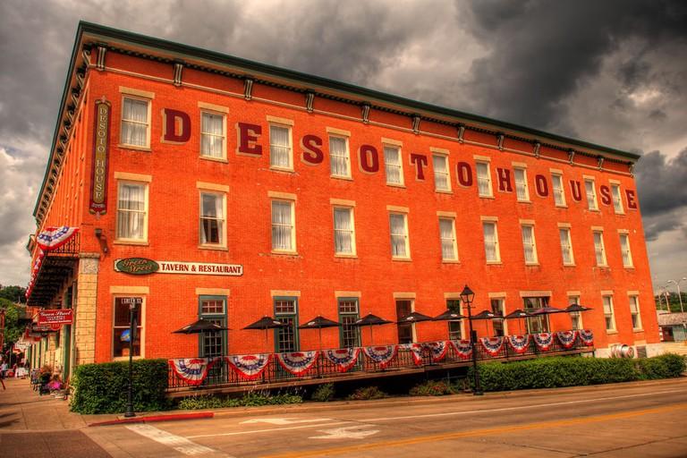 The Desoto House Hotel Galena Illinois