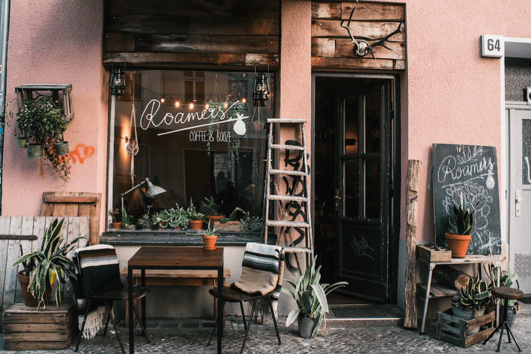 Roamers is the rustic, cosy-cool restaurant in Berlin