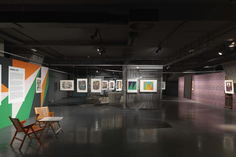 An Exhibition at the Jakopič Gallery