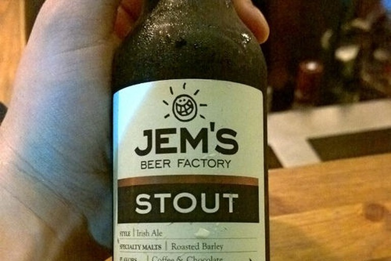 Jem;s Stout Beer