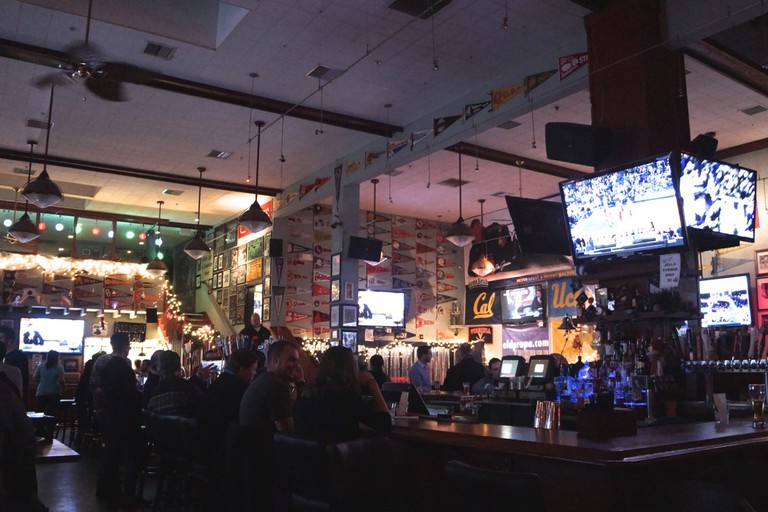 Old Pro's bar is the spot for sports fans