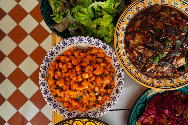 Sandro's offerings run the gamut from Lebanese to Moroccan