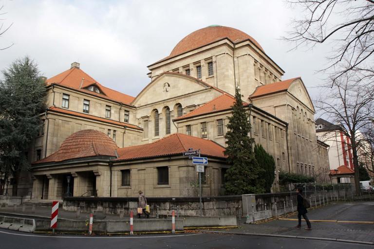 Westend synagogue frankfurt