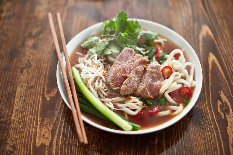 Pho Bistro offers authentic Vietnamese cuisine in a low-key setting