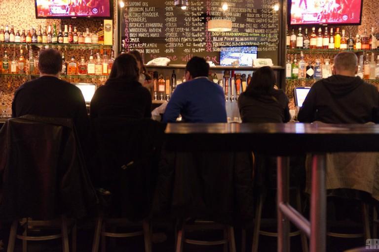 Buddha Beer Bar Patrons