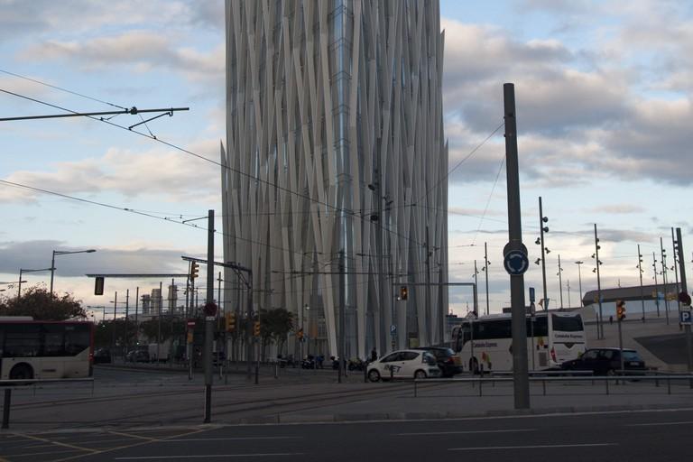 Barcelona, Spain [Diagonal Z Building]   © Joan Díaz Gallamí