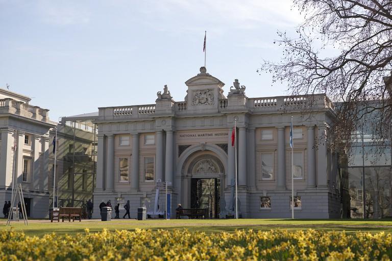 Beautiful exterior of the National Maritime Museum