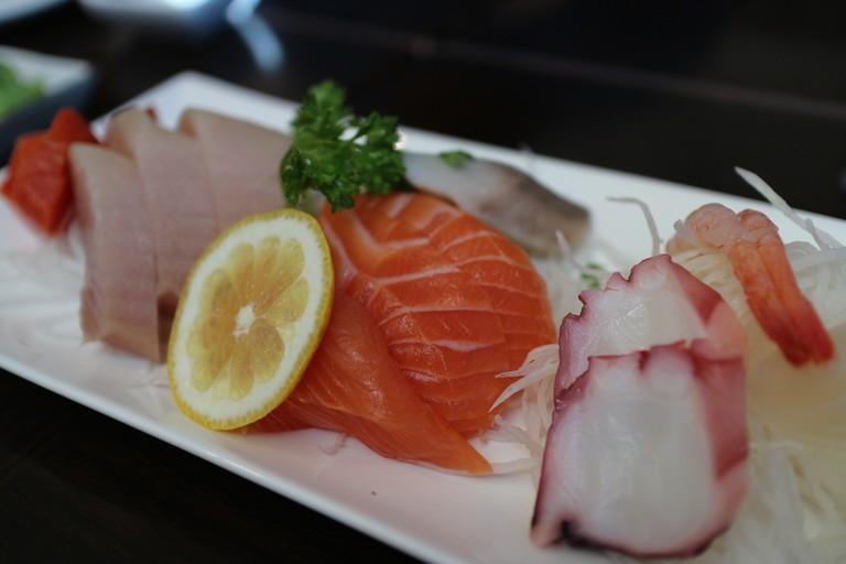 Find sashimi like this at Kinugawa| ©Elsie Hui/Flickr