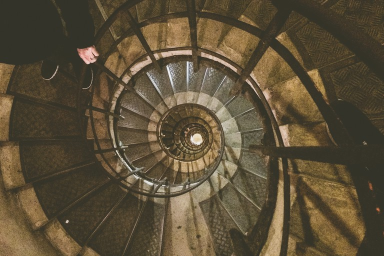 Climbing the Arc de Triomphe   © Whitney Donaldson