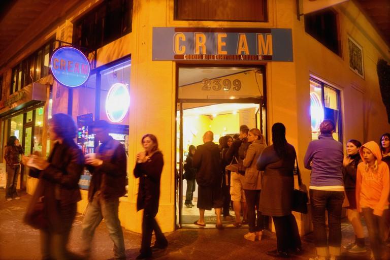 Line at CREAM