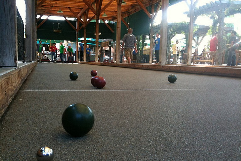 Campo Di Bocce in Los Gatos © Tom Park/Flickr